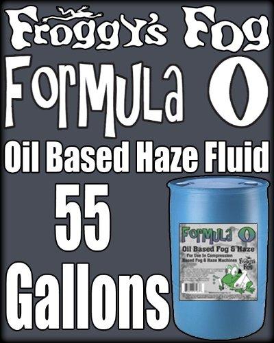 Froggys Fog - Pro Oil Based Haze Juice Machine Fluid - 55 Gallon Drum