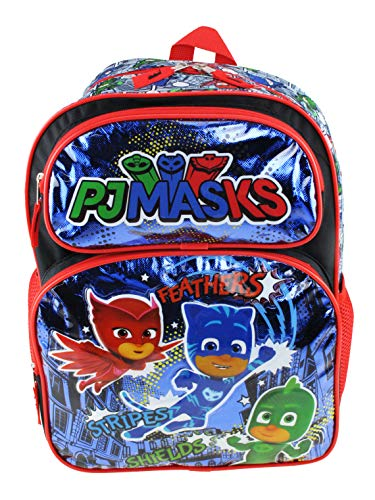 PJ Masks Large 16' Full Size Backpack - Hero Rules - 21113