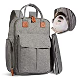 Breast Pump Backpack, Momcozy 27L Large Capacity Diaper Bag with Maternity Baby Nappy Changing Pad, Waterproof & Multi-Pockets, Fit for Breast Pumps like Spectra, Lansinoh, Avents,etc.