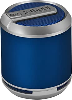 Divoom Bluetune Solo Portable Speakers (X-BASS, Bluetooth, Blue)