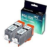 2-Pack (Large Black) Compatible PGI-225 CLI-226 PGI225 CLI226 Ink Cartridge use with PIXMA MX712 MX882 MX892 MG5120 MG5320 MG6220 MG8120 iP4920 IX6520 Inkjet Printer, by MuchMore