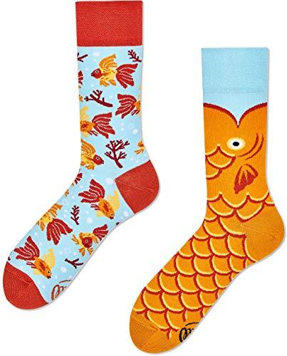 Many Mornings Socken - The Wish Fish - Fischsocken (39-42, Wish Fish)