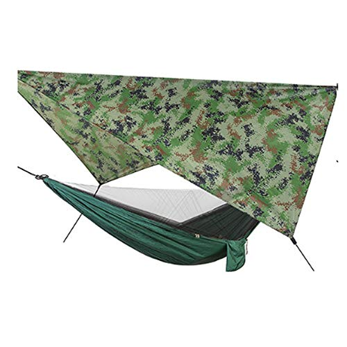 YSCYLY duurzame reizen hangmatten, automatische snelheid open muskietennet, Sky Screen, draagbare sneldrogende Perfect voor wandelen backpacking strand