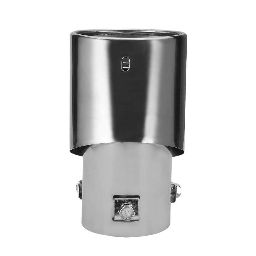 必要としている処分した委員長Tivollyff まっすぐで曲がる一般的な明るい銀製のステンレス鋼の自動排気管の装飾的な変更されたマフラーの尾喉のダンパー