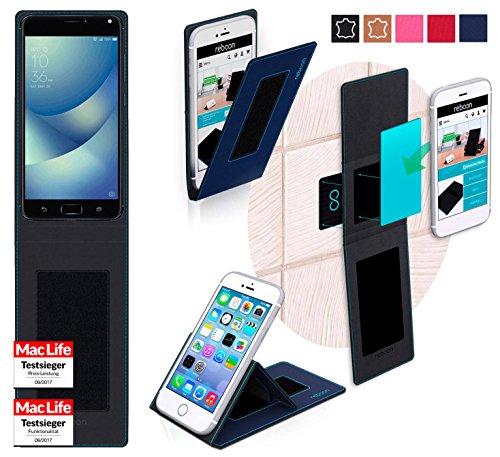 Hülle für Asus Zenfone 4 Max Pro Tasche Cover Hülle Bumper | Blau | Testsieger