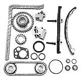 cciyu TK3022 Timing Chain Kit Fit For Nissan Frontier 1998 1999 2000 2001 2002 2003 2004, Nissan Altima, Nissan Xterra Fit 13024-9E000 13077-5V100 13021-53J00 13070-4E102 13070-53F16