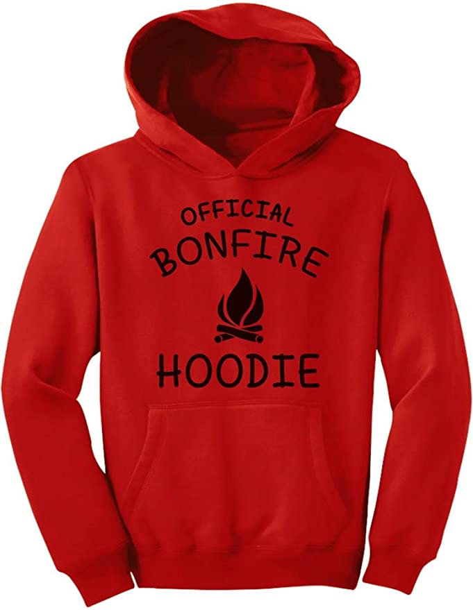 Camping Bonfire Hoodie for Hiking Fishing Hunting Unisex Hoodie For Girls and Boys Youth Sweatshirt
