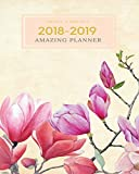 2018-2019 Amazing Planner Weekly & Monthly: Calendar Schedule Organizer and Agenda Journal Notebook With Inspirational Quotes And Daily Checklist ... Illustration): Volume 1 (Journal Planner)
