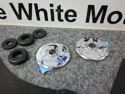 2008-2011 DODGE CHALLENGER CHROME HOOD PIN KIT MOPAR