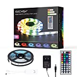 LED Strips Lights 5m RGB, eklipt Light Strips with Remote Colour Changing, UL