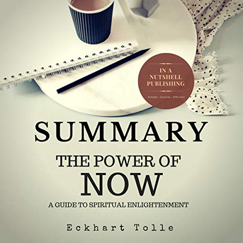 Summary: The Power of Now by Eckhart Tolle cover art