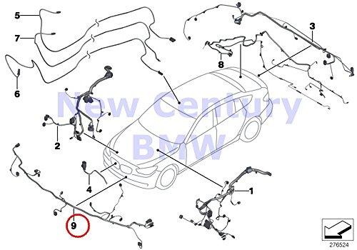 Price comparison product image BMW Genuine Electrical Front End Wiring Harness 528i 528iX 535d 535dX 535i 535iX 550i 550iX Hybrid 5