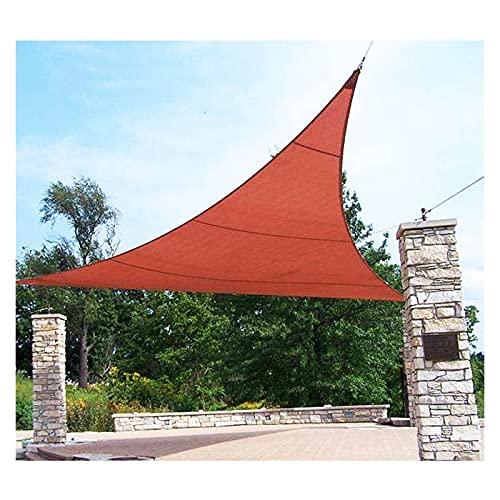 Toldo Vela De Sombra, Toldo De Vela De Sombrilla De Jardín Impermeable 98% De Bloqueo UV Rectángulo Y Triángulo Para Patio Trasero, Patio, Parque, Cochera Y Pérgola ( Color : Red , Size : 3x3x3m )