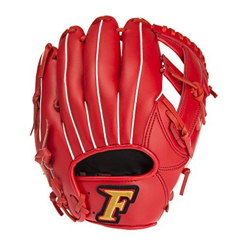 サクライ貿易SAKURAI) Falcon(ファルコン) 野球 一般軟式用 オールラウンド用 グローブ Sサイズ FG-5713 レッド