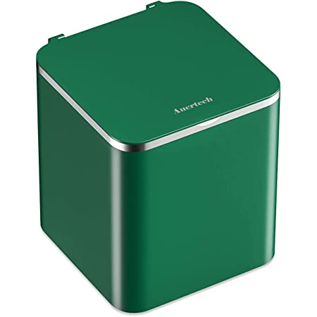 Auertech Portable Ultrasonic Washing Machine, Mini Underwear Washer Compact Laundry Machine with USB Cord, Semi-automatic Washing Machine for RVs, Apartments and Dorms (GREEN)