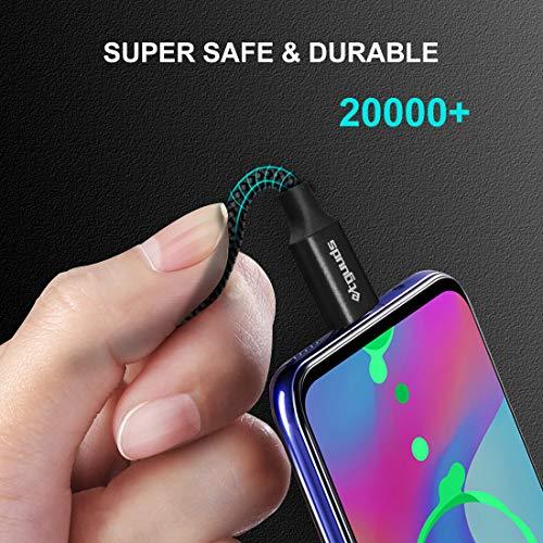 etguuds USB C Kabel [0.3m+1m+1.8m] USB C Datenkabel, Robustes Nylon Typ C Ladekabel und Schnellladekabel, für Samsung Galaxy S20 S10 S9 S8 Plus, Note 8 9 10, A51 A41 A50 A40 A71, Xperia XZ, Redmi