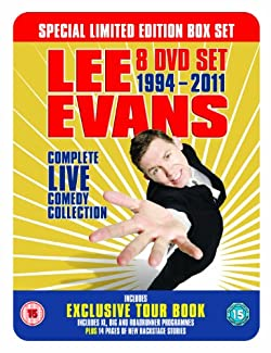 Lee Evans - Complete Live Comedy Collection 1994 - 2011