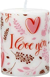 Greenbrier International Valentine Day Romantic Candles 3.5X2.5 (4)
