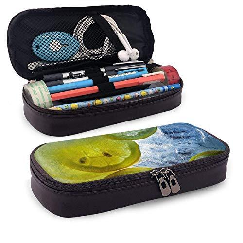 Make-up Bag, verfrissende limonade-make-up borsteltas, fantastische stifttassen voor leraren van de familie vrienden, 20 x 9 x 4 cm