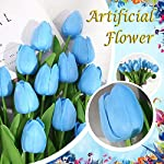 celendi-10pcs-artificial-tulips-flowers-real-touch-tulips-fake-holland-tulip-bouquet-latex-flowers-for-mothers-day-wedding-party-office-home-kitchen-decoration-blue