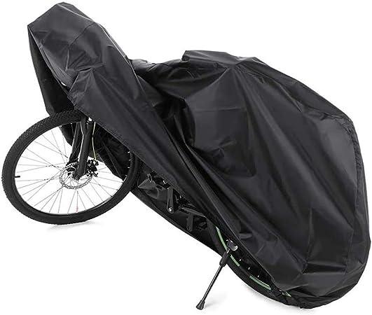 Mture Vélo Pluie Poussière Housse Imperméable Outdoor Medium Noir 180x60x90cm