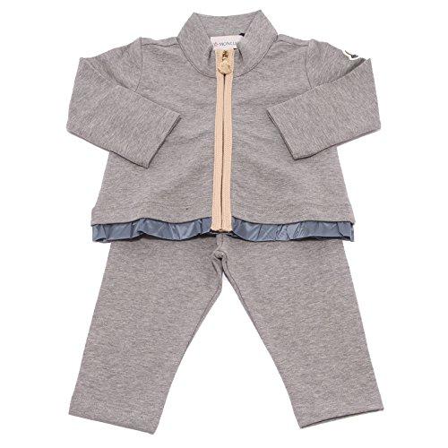Moncler 3667V Completo Tuta Bimba Sweatshirt Tracksuit Girl Kid [6/9 Months]