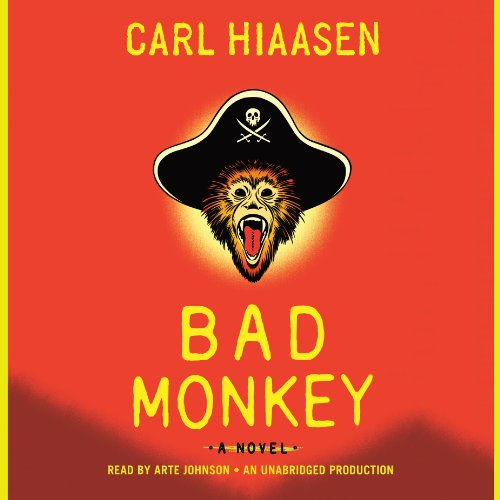 Bad Monkey audiobook cover art