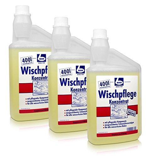 Preisvergleich Produktbild 3x Dr. Becher Wischpflege Konzentrat Reiniger 1 L