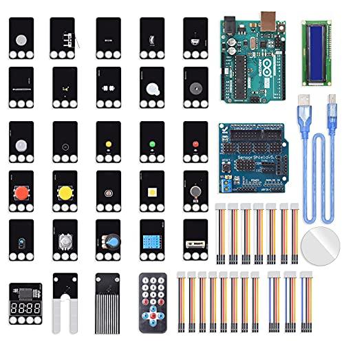 No application Für Arduino UNO Starter Kit Grafik-Programmierung Upgrade Mixly grafische Programmierung MCU Entwicklungsplatine Set bietet Tutorials für Kinder Jugendliche Erwachsene für Lego-Blöcke