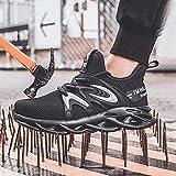LLKK Calzado de protección,Zapatos Deportivos,Zapatos de Seguridad,Zapatos de Hombre,Calzado de protección antidesgaste Ligero,Transpirable,Anti-Rotura y antiperforación de Verano