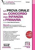 La prova orale del concorso per Infanzia e Primaria...
