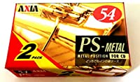 AXIA メタルテープ PS METAL 54分 2本セット PSMH 542