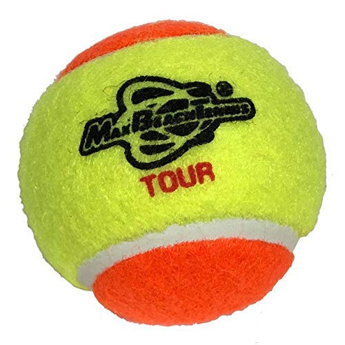 Max Beach Tennis MBT Pacchetto 3 Palline MBT Tour Stage 2 - ITF Approved