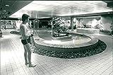 Eskilstuna - pool - Vintage Press Photo
