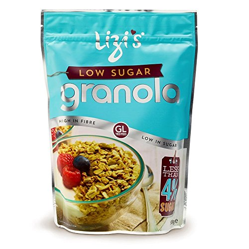 Lizi's Low Sugar High in Fibre Ready to Eat Cereal Oats Nuts & Seeds Granola - 1kg