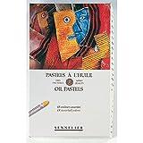 Sennelier Cardboard Oil Pastel Set, Set of 48, Multicolor 48 Count