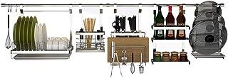 Vaisselle de Cuisine égouttoir-Support de Rangement Support d'ustensiles de Cuisine Support d'ustensiles de Cuisine Suppor...