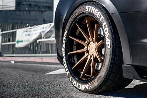 "20"" Inch Ferrada FR4 Matte Bronze/Gloss Black Lip Concave Wheels Rims Only | Set of 4 | R Motorsports | Fits Dodge Charger Challenger"