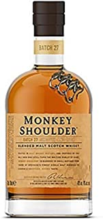 Monkey Shoulder Blended Malt Whisky 0,7 Liter  2 Glencairn Gläser