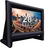 20 Feet Inflatable Outdoor Movie Projector Screen,Blow Projector Screen Projection Screen...