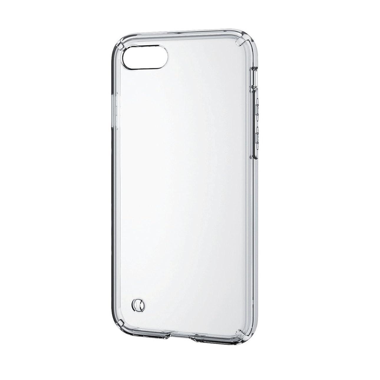 ジャンクション習熟度策定するエレコム iPhone8 ケース カバー ハイブリッド 衝撃吸収 透明 【端子?ボタン回りまで保護する設計/ストラップホール付き】 iPhone7 対応 クリア PM-A17MHVCCR
