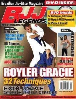 BJJ Legends Magazine: Royler Gracie, Wander Braga, Megumi Fujii, Kettlebell and more with DVD 2010-01 (Volume 2)