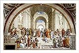 Poster The School of Athens, von Raphael, 61 x 91 cm