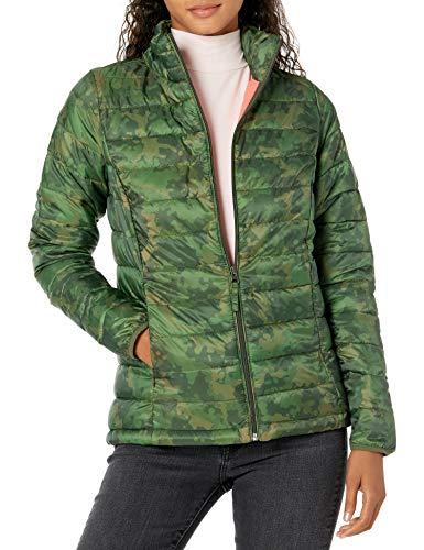 Amazon Essentials Damen Lightweight Water-resistant Packable Puffer Jacket Steppjacke,Grün(Grün Camo),XXL