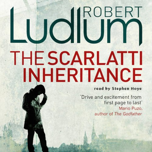 The Scarlatti Inheritance audiobook cover art