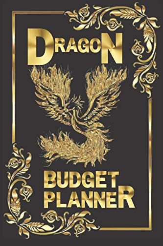 DRAGON BUDGET PLANNER: mead organizher expense , bill organizer money tracker / family finance monthly and weekly planner spiral bound undated cash books bookkeeping bookfactory with calendar