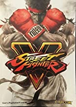 Prima Street Fighter V Official Mini Edition Guide Covers PS4 and PC