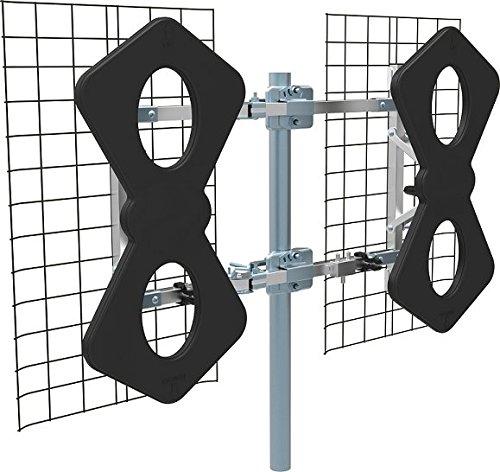Focus Antennas BEST-6 HD Long Range Multi-Directional 75+ Miles Indoor/Outdoor UHF and HDTV Antenna