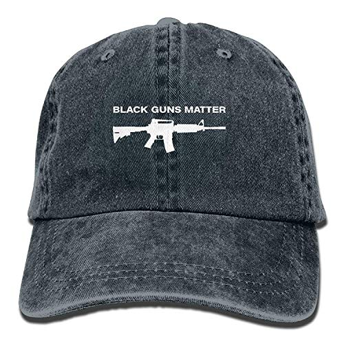 But why miss Black Guns Matter Washed Retro Adjustable Jeans Cap Leisure Hats ForAdult