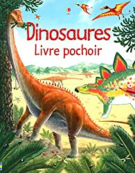 Dinosaures - livre pochoir